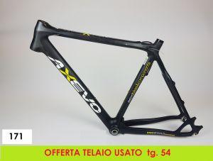 AXEVO TELAIO GRAVEL RCX CARBON tg. 54 USATO(171)