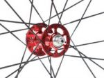 PROGRESS FRONT HUB TURBINE FOR V-BRAKE/CANTILEVER WHEELS - RED 28H