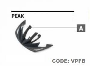 AIROH VISIERA NERA CASCO VIPER