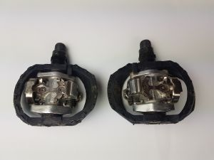 SHIMANO PEDALS PD-M424 SPD (USED) CP002