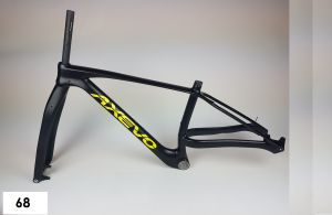 AXEVO X-FAT FRAME CARBON TG. 43,5 (73)