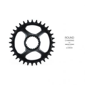 GARBARUK - DIRECT ROUND CHAINRING FOR SHIMANO XTR M9100
