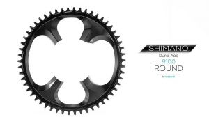 GARBARUK SINGLE ROUND CHAINRING FOR DURA-ACE 9100 110BCD