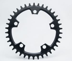 GARBARUK ROUND CHAINRING 130BCD - 5 HOLE ROAD/CX