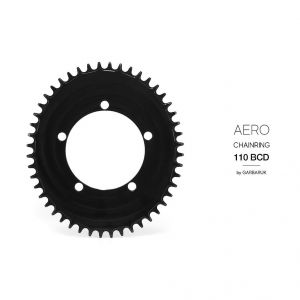 GARBARUK OVAL CHAINRING BCD110 AERO - 5 HOLE ROAD/CX