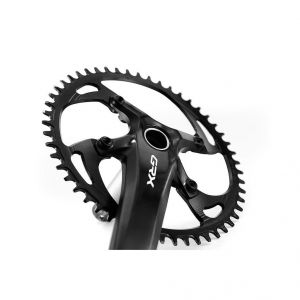GARBARUK OVAL CHAINRING FOR SHIMANO GRX 110BCD - ROAD/CX