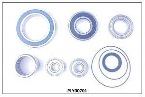 YAMAHA  PW & PW-SE Bearing + Sealing overhaul kit