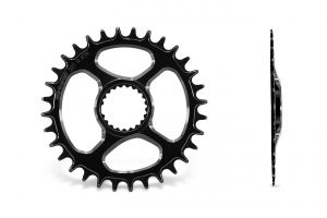 GARBARUK DIRECT ROUND CHAINRING FOR SHIMANO XTR M9100 (CUSTOM)