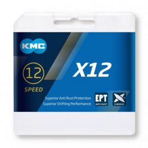 KMC  BIKE CHAIN 12sp  X12EPT 126 links