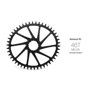 GARBARUK OVAL CHAINRING FOR CANNONDALE ROAD/CX HOLLOWGRAM