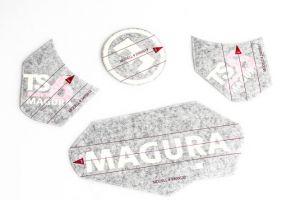 MAGURA SET ADESIVI FORCELLE TS6/TS8
