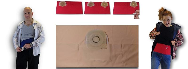 Ostomy Waist Wrap: Easy