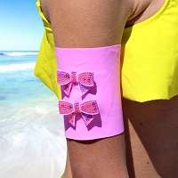 Bow Tie Arm Bands