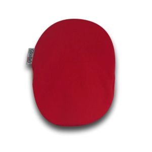 Closed Ostomy Pouch Cover: Red