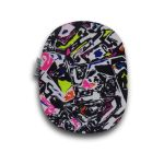 Closed Ostomy Pouch Cover: Graffiti