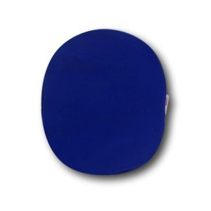 Closed Ostomy Pouch Cover: Blue