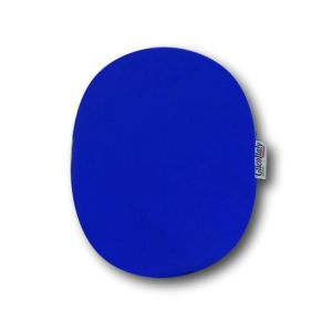 Closed Ostomy Pouch Cover: Lively Blue