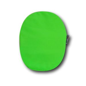 Closed Ostomy Pouch Cover: Fluo Green