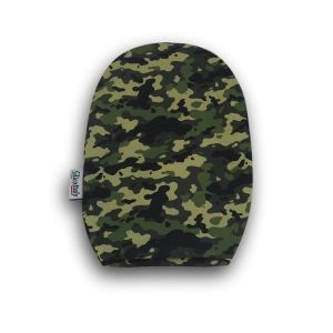 Opened Ostomy Pouch Cover: Camouflage