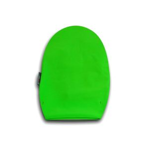Opened Ostomy Pouch Cover: Fluo Green