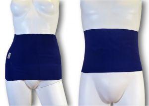 Ostomy Waist wrap - secret: cod. 04 Blue