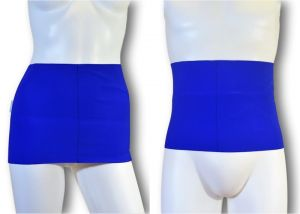 Ostomy Waist wrap - secret: Lively Blue