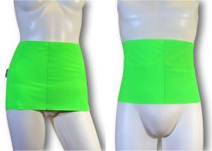 Ostomy Waist wrap - secret: cod. 08 Fluo Green