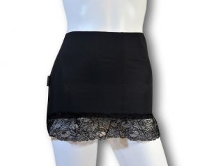 Ostomy Waist wrap secret: cod. 25 Black with Lace