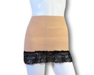 Ostomy Waist Wrap Secret: cod. 27 Beige with Lace
