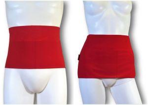 Ostomy Waist Wrap - Easy: Red