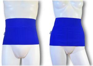 Ostomy Waist Wrap - Easy: Lively Blue
