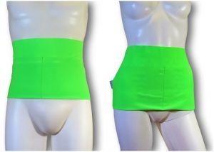 Fajas Ostomia Easy: Verde fluo