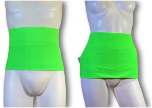 Ostomy Waist Wrap - Easy: Fluo Green