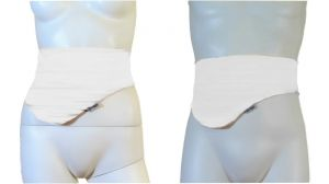 Ostomy Bag Belt: White