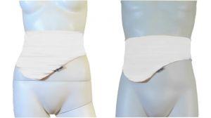 Ostomy Bag Belt: cod. 05 White