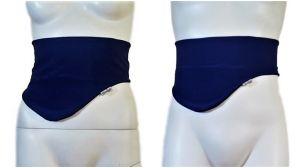 Cinturón Porta Bolsas de Ostomia: Azul