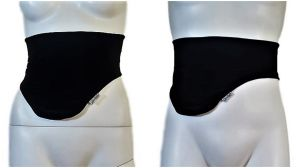 Ostomy Bag Belt: Black