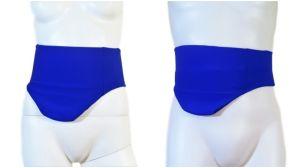 CINTURÓN-CUBRE BOLSA OSTOMIA: cod. 07 azul vivaracho