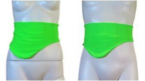 CINTURÓN-CUBRE BOLSA OSTOMIA: Verde fluo