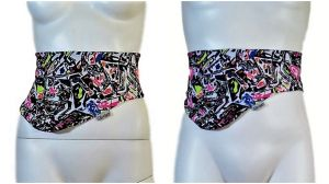 Ostomy Bag Belt: cod. 12 Graffiti