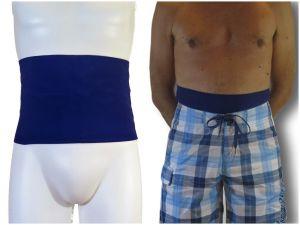 Ostomy Swimming Wrap: Blue