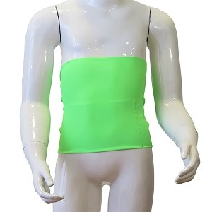 Kids Ostomy Wrap Easy: Fluo Green