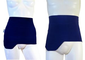 Ostomy Shape Easy Wrap: Blue