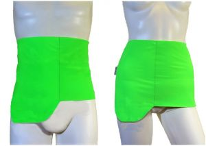 Ostomy Shape Secret Wrap: cod. 08 Fluo Green
