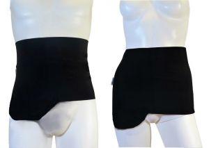 Ostomy Shape Secret Wrap: Black