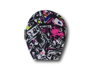 Children's Ostomy Bag Cover: Graffiti