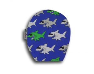 Children's Ostomy Bag Cover: Sharks