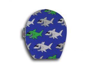 Children's Ostomy Bag Cover: Sharks