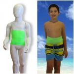 Faja Ostomia niños: Holiday verde fluo