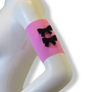 Bow tie arm bands (PK BK)